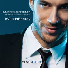 Unmistakably Refined ! Get the contoured skin and stylish demeanor with Venus Freeze. Find your nearest Venus Freeze certified provider @ www.venustreatments.com  ‪#‎VenusBeauty‬ ‪#‎VenusFreeze‬