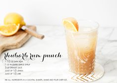 Rum punches, Rum and Punch on Pinterest