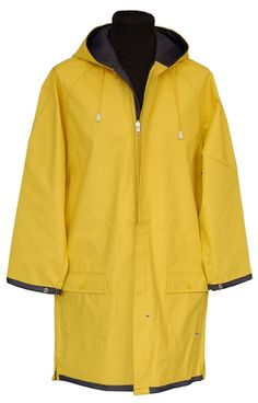 Traditional Yellow Raincoat | Friesennerz