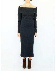 jean paul gaultier wool vintage dress