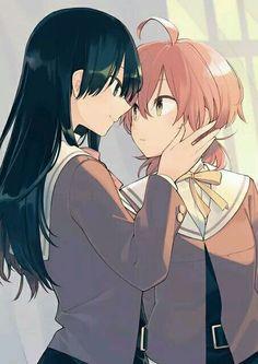 Read Yagate Kimi Ni Naru from the story Ảnh Anime Yuri. Yuri Anime, Anime Art, Naru Love, Romance, Tumblr, Lesbian Love, Nanami, Cute Anime Character, Gay Art