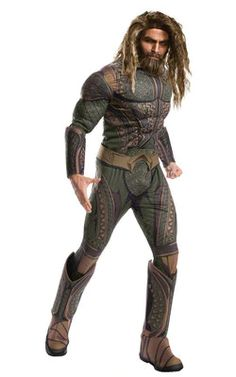Discover the Adult Justice League Aquaman Costume Deluxe. Explore items related to the Adult Justice League Aquaman Costume Deluxe. 2017 Halloween Costumes, Dc Comic Costumes, Wholesale Halloween Costumes, Group Costumes, Adult Costumes, Men's Costumes, Halloween 2018, Costume Ideas, Justice League Aquaman
