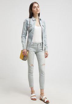 Polo Ralph Lauren TOMPKINS Jean slim light-blue denim prix Jeans Femme Zalando 200.00 €