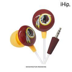 iHip NFL Mini Earbud Headphones - Assorted Styles