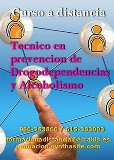 curso tecnico en drogodependencias y alcoholismo #atencionsociosanitaria