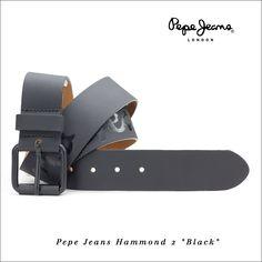 """Pasek Pepe Jeans Hammond 2 """"Black"""""""