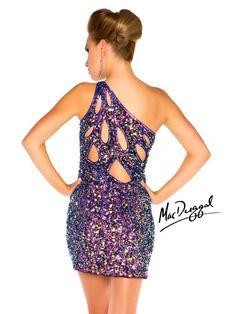 One Shoulder Club Dress
