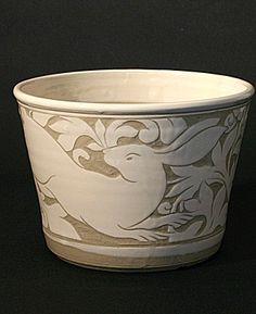 sgraffito technique | miranda thomas sgraffito carving process technique pottery ... | Pott ...