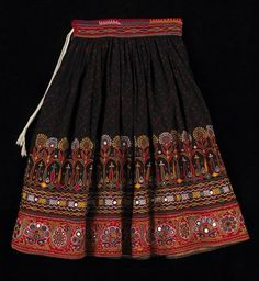 traditional_kutch_skirt I have one of these skirts from India. I was lucky enough to find in the Goodwill and it was just like the one I bought back in the 1970's from Delhi.
