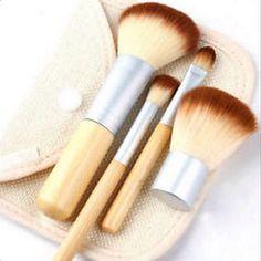 Brand New: Bare Minerald, 2015 4PC Makeup Brush S et. Health & Beauty @ Immortalmastermind.com ($59.95)