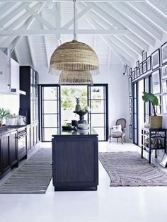 Lacquered Life: Black, White, and Blue
