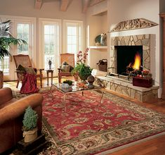 Agra Area #rug In Red   Part Of The Ashara Collection From @Karastan Carpet