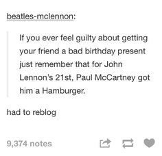 Lol I wouldn't mind a hamburger Beatles Funny, The Beatles, Great Bands, Cool Bands, Lennon And Mccartney, The Fab Four, John Lennon, Tumblr Posts, Tumblr Funny