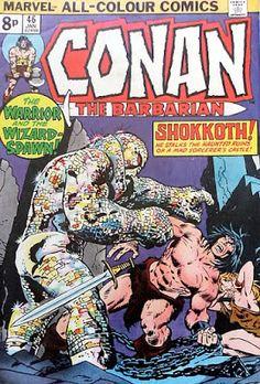 Conan the Barbarian #46, Shokkoth!
