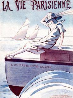 Illustration by Rene PrejelanFor La Vie Parisienne1915