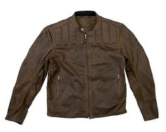 Spidi Worker Wax Motorcycle Jacket Wax Waxed Canvas And