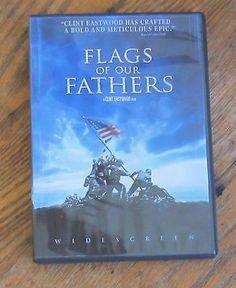 Flags of Our Fathers DVD 2007 Widescreen Version World War II Iwo Jima