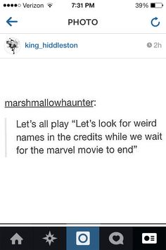 Every time. Every movie, too, not just Marvel.