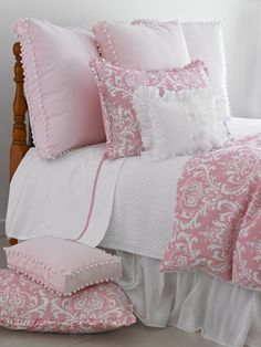 Maggie Duvet Cover! Not the right pin name but definately would work in my pink bedroom where i never find the right set!!!