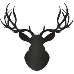 Adam Schwoeppe 'Midnight Buck' Deer Silhouette Art Wall Sculpture
