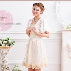 Short Sleeve Chiffon Party/Evening Jackets/Wraps(More Colors) – USD $ 21.99