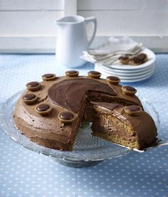 Toffifee-Torte - kleine Süßigkeit, ganz groß!
