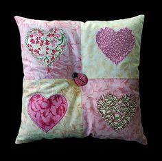 Applique pillow | Flickr - Photo Sharing!