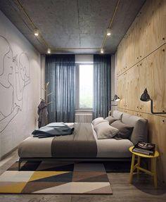 Realizat deAnna Fedyukina alături de arhitecții de laDemirci Architects acest proiect de amenajare pentru un micuț apartament de do...