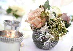vintage weddings - table
