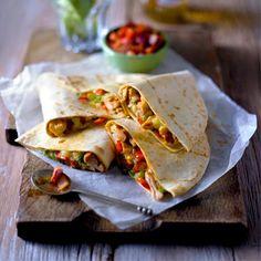 Chilli chicken quesadillas | Easy chicken recipes | Red Online