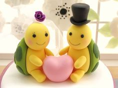 turtle wedding cake toppers - Google Search