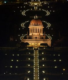 The Bahai Shrine, Haifa, Israel