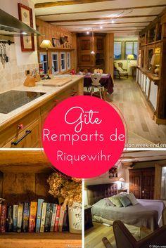 Week-end romantique en Alsace dans un des gîtes Les Remparts de Riquewihr