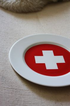 Swiss Cross Plate