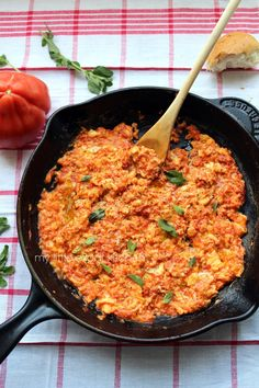 This is perhaps the simplest Greek recipe in existence and if you are into tomatoes and eggs, this is for you.        The more common nam...