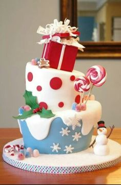Christmas cake :)