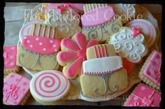 Her+Birthday+Assorted+Shortbread+Sugar+Cookie+by+TheTailoredCookie,+$50.00