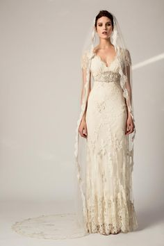 Can't Get Enough of these Classy Vintage Temperley London Wedding Dresses. To see more: http://www.modwedding.com/2014/09/13/cant-get-enough-classy-vintage-temperley-london-wedding-dresses/ #wedding #weddings #wedding_dress
