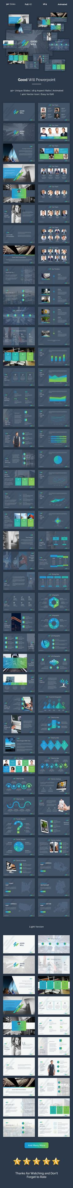 Good Will Creative Powerpoint Template