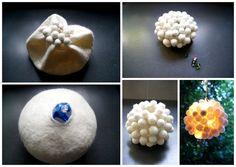 Filz und Garten: DIY - Leuchtobjekt aus Filz
