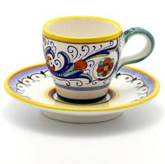 Idea: thrifted espresso or tea cups as favors?