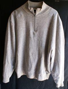 Men's Large Windproof Cutter & Buck Sweater - No Reserve #CutterBuck #Sweater
