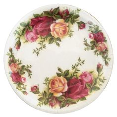 Decoupage Plates, Paper Plates, Resin Crafts, Resin Art, Paper Crafts, Painted Roses, Hand Painted, China Painting, Flower Circle