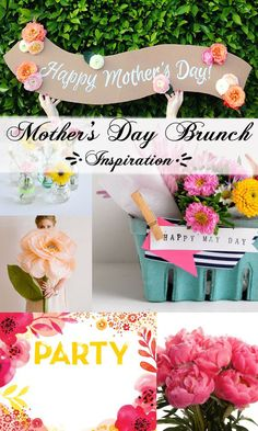 A great gift for mom on Mother's Day - Throwing a Mother's Day Brunch