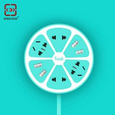 Find More Outlets Information about Trozk Lemon Style Charging Power Strip Multi…