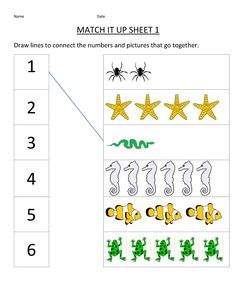 Free Printable Matching Worksheets for Kindergarten | K5 Worksheets