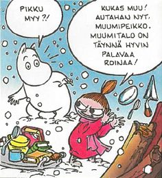 Tove Jansson, Moomin Valley, Little My, Funny Things, Fandoms, Comics, My Love, Illustration, Cute