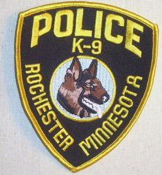 Rochester Mn Police | ROCHESTER MINNESOTA MN POLICE PATCH