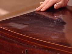 TIPS FOR RESTORING FURNITURE  Even furniture with water marks, vacuum-cleaner nicks, scratches or damaged veneer can look like new without too much trouble.