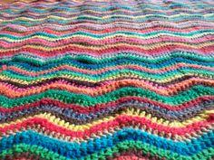 Ripple Cascade 220, Blanket, Knitting, Crochet, Tricot, Breien, Stricken, Ganchillo, Weaving